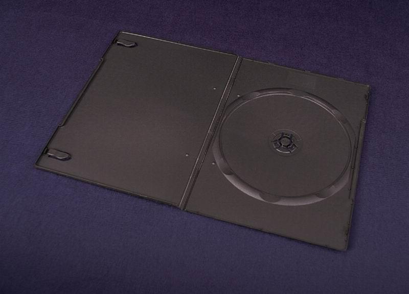 ESPERANZA DVD Box 1 Black 7 mm ( 200 Pcs. PACK)