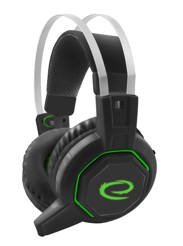 Esperanza EGH7000 ICEMAN WITH MICROPHONE FOR GAMERS WITH 7.1 SURROUND SOUND austiņas