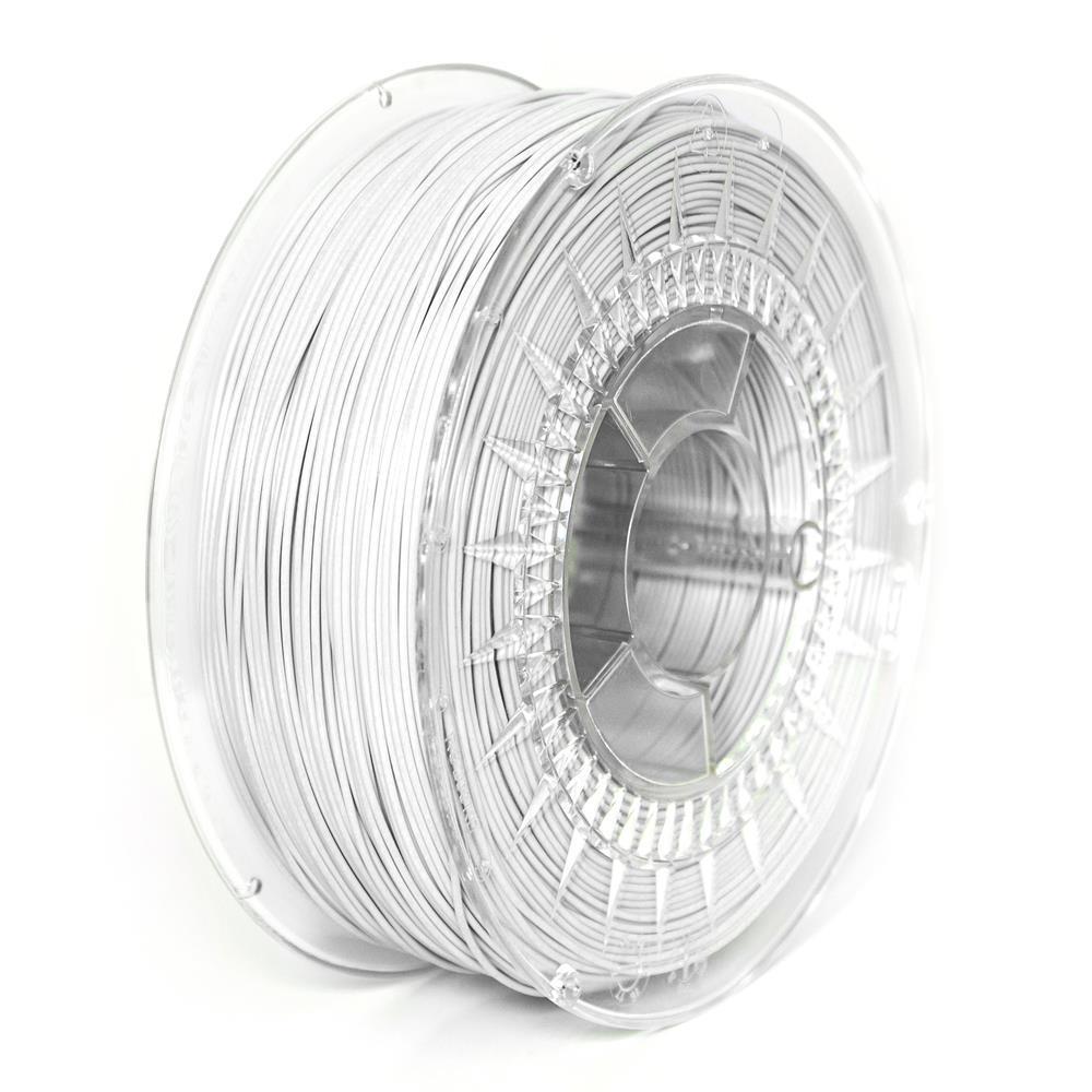 Filament DEVIL DESIGN / PLA / WHITE / 1,75 mm / 1 kg 3D printēšanas materiāls