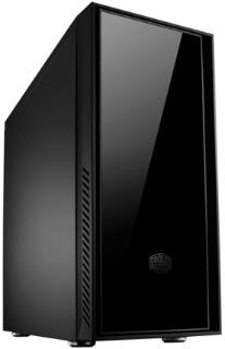 Cooler Master computer case Silencio 550 black ( w/o PSU ) Datora korpuss