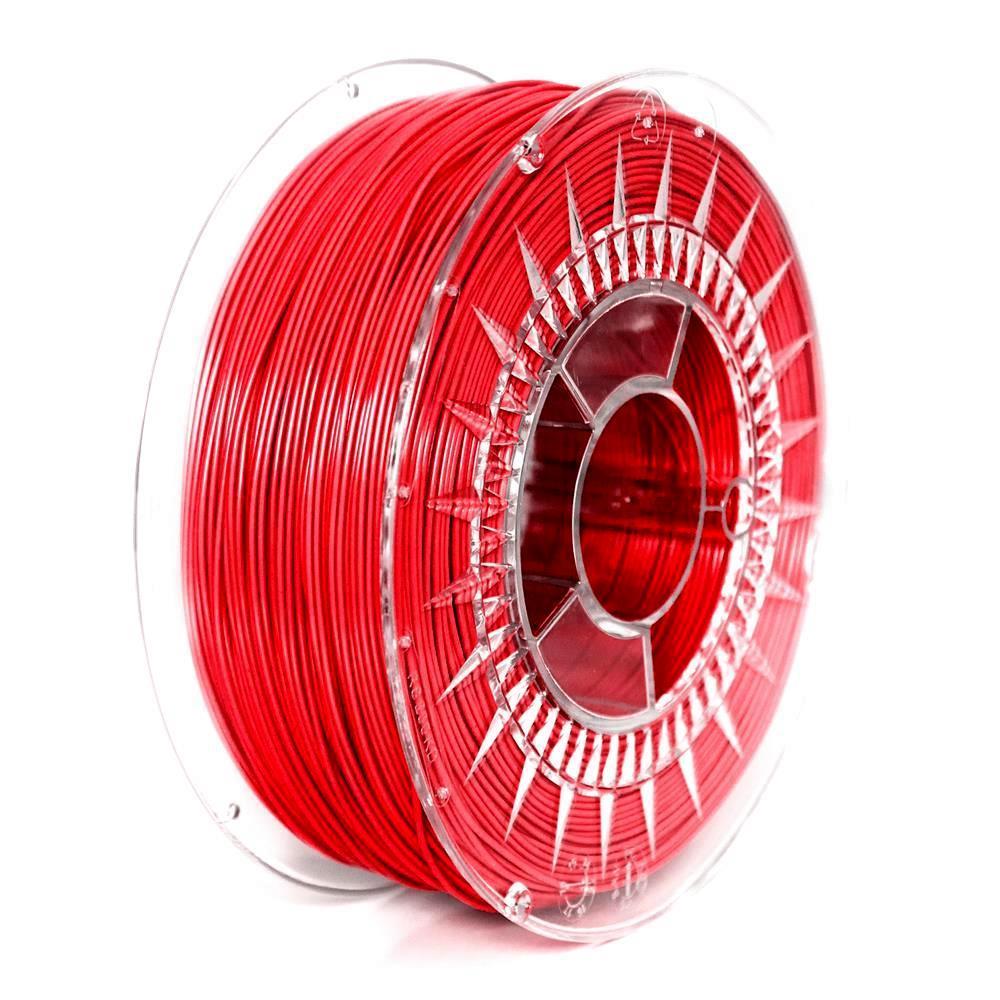 Filament DEVIL DESIGN / PETG / RED / 1,75 mm / 1 kg. 3D printēšanas materiāls