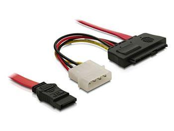 Delock Cable SAS 29pin > 1x SATA (SFF 8482 > 1x SATA) 50cm kabelis datoram