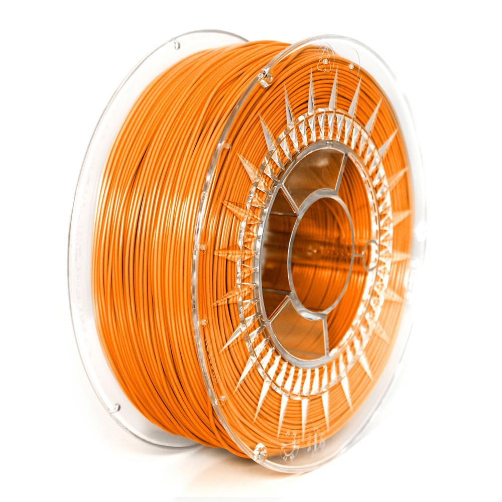 Filament DEVIL DESIGN / PETG / DARK ORANGE / 1,75 mm / 1 kg. 3D printēšanas materiāls