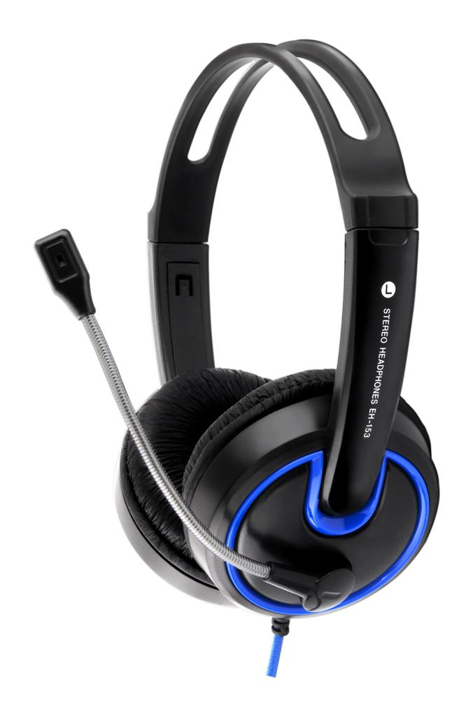ESPERANZA Stereo Headset with microphone and volume control EH153B