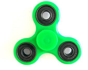 FINGER SPINNER   FIDGET SPINNER GREEN Fidget spinner