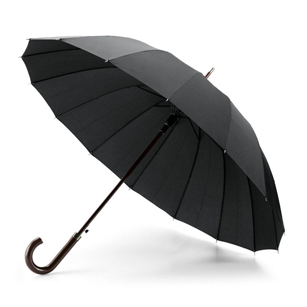 Esperanza EOU001K straight umbrella : auto open - 16 ribs Lietussargs