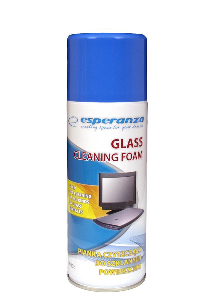 Esperanza Foam Glass Cleaning ES102 400ml biroja tehnikas aksesuāri