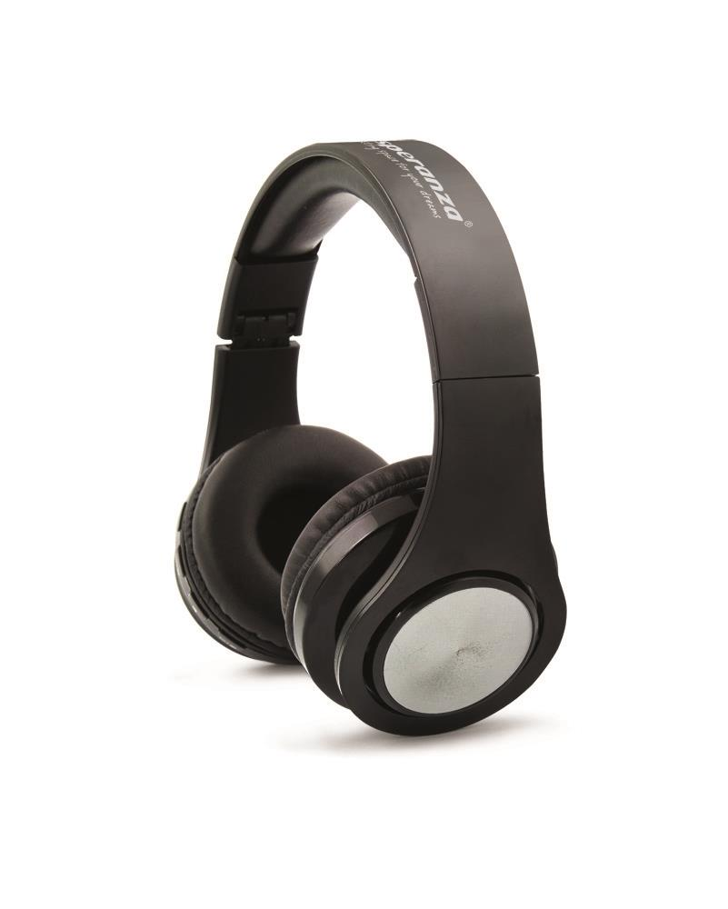 ESPERANZA EH165K WIRELESS BLUETOOTH 3.0 STEREO HEADPHONES FLEXI - BLACK austiņas