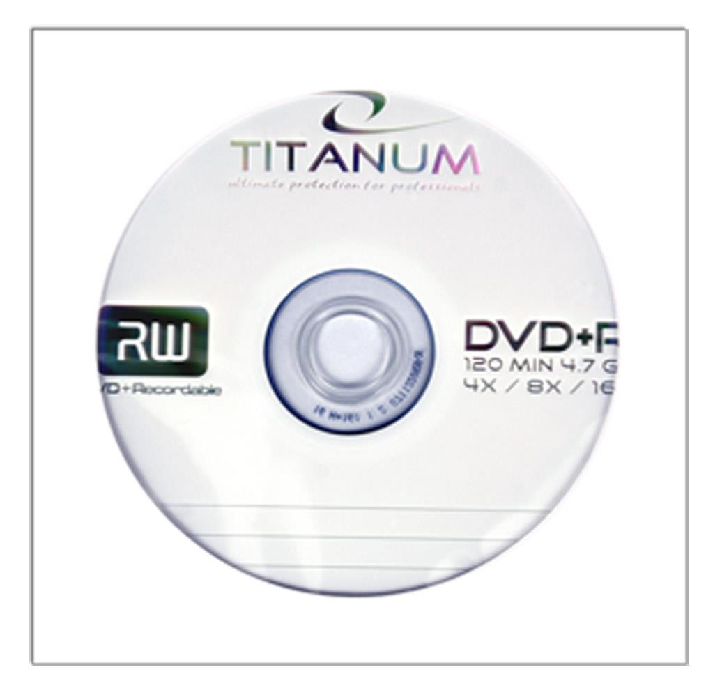 DVD+R TITANUM [ envelope 1 | 4.7GB | 16x ] - 500pcs matricas