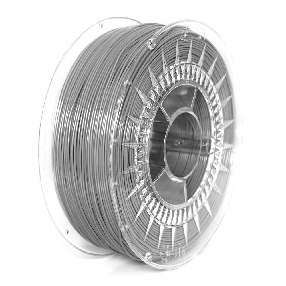 Filament DEVIL DESIGN / PLA / GRAY / 1,75 mm / 1 kg. 3D printēšanas materiāls