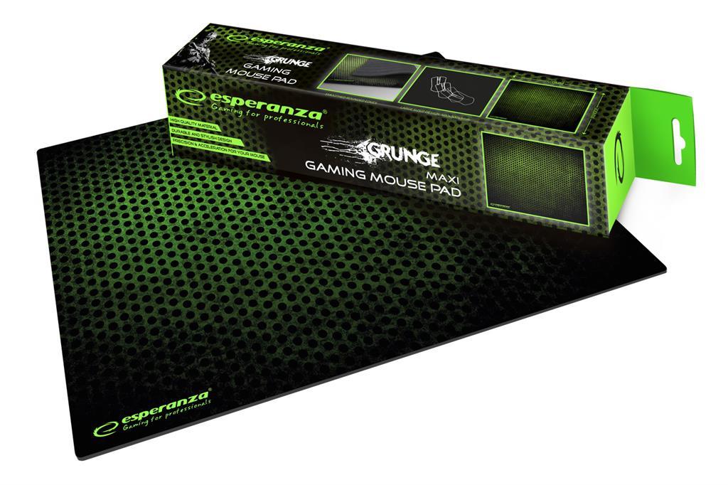 Esperanza EGP103G GAMING Mouse Pad  |400 x 300 x 3 mm peles paliknis