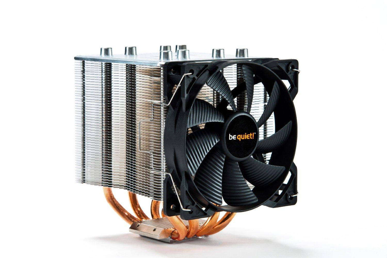 BE QUIET! SHADOW ROCK 2 S775/1155/1366/2011/AM3+/FM procesora dzesētājs, ventilators