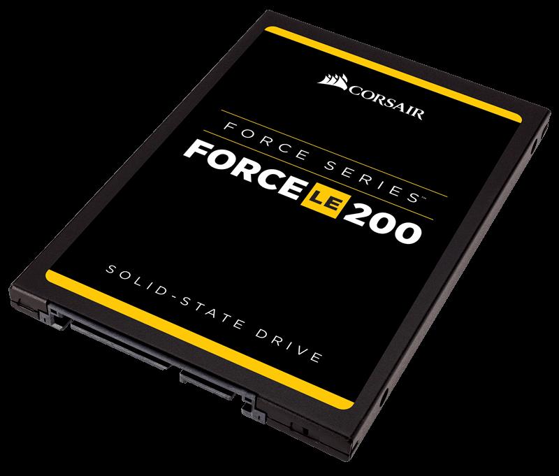Corsair SSD Force LE200 120GB SATA3 550/500 MB/s SSD disks