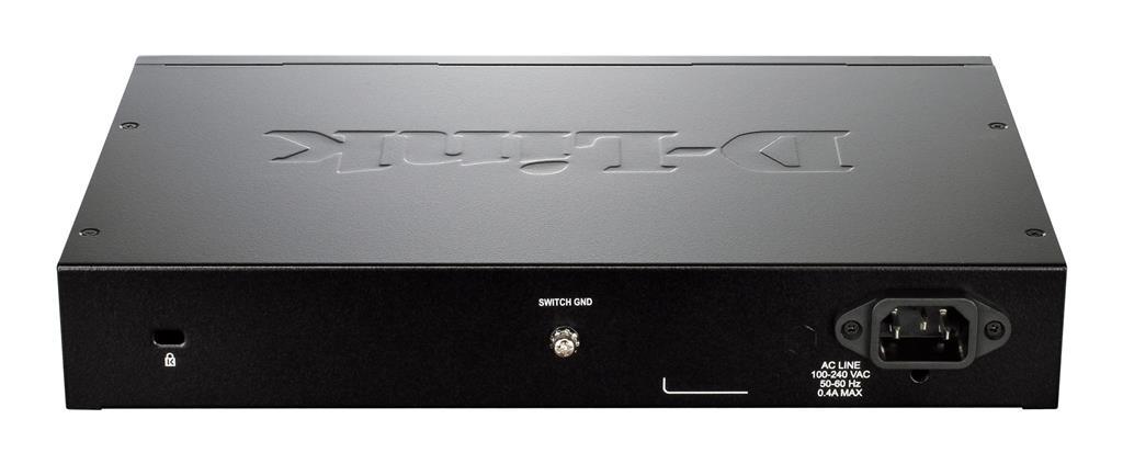 D-Link 16-port 10/100/1000 Base-T with 4 x 1000Base-T /SFP ports komutators