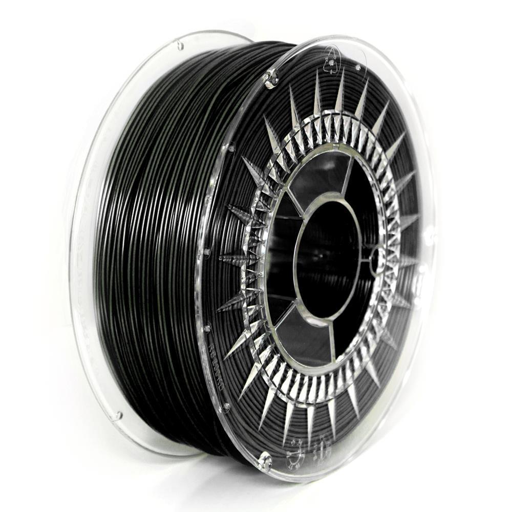 Filament DEVIL DESIGN / PLA / BLACK / 1,75 mm / 1 kg. 3D printēšanas materiāls