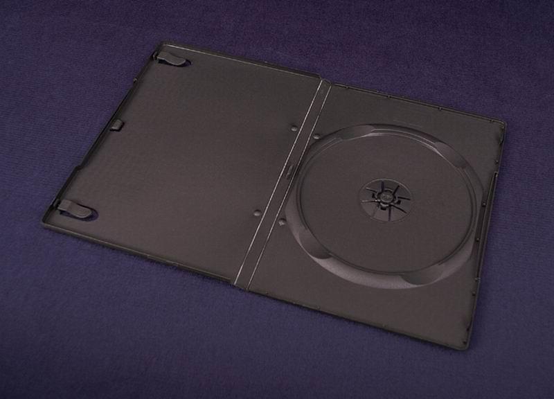 ESPERANZA DVD Box 1 Black 9 mm ( 100 Pcs. PACK)
