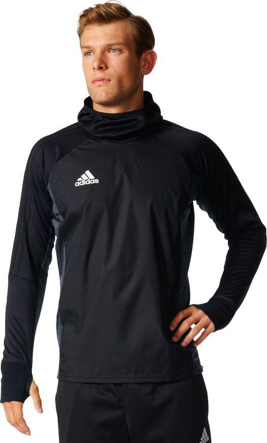 Adidas Koszulka meska TIRO17 Warm Top czarna r. XL (AY2867) AY2867