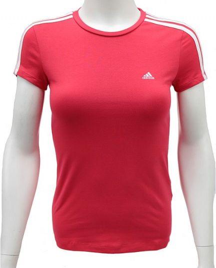 Adidas Koszulka damska Ess 3 S Tee czerwona r. 2XS Z35867