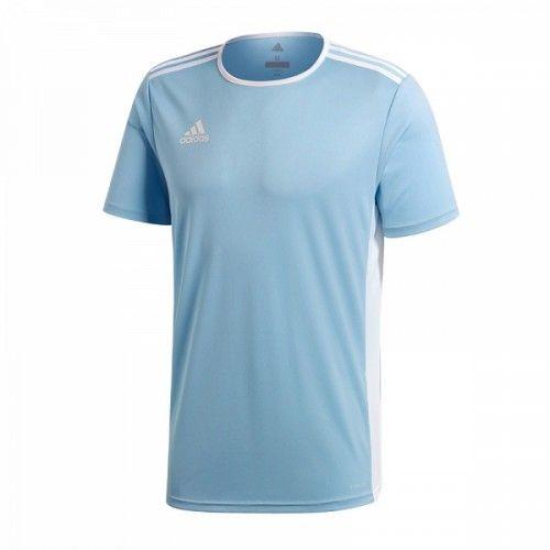 Adidas Koszulka pilkarska Entrada 18 JSY niebieska r. 152cm (CD8414) CD8414