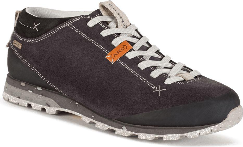Aku Buty meskie Bellamont Suede GTX Dark Grey/White r. 41 8032696594022 Tūrisma apavi