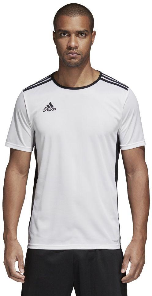 Adidas Koszulka pilkarska Entrada 18 JSY biala r. XL  (CD8438) CD8438