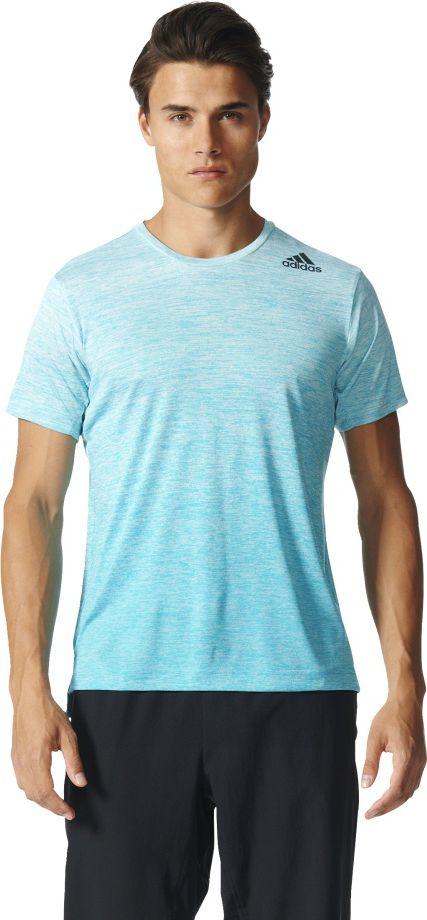 Adidas Koszulka FreeLift Tee Gardient niebieska r. M (BK6196) BK6196