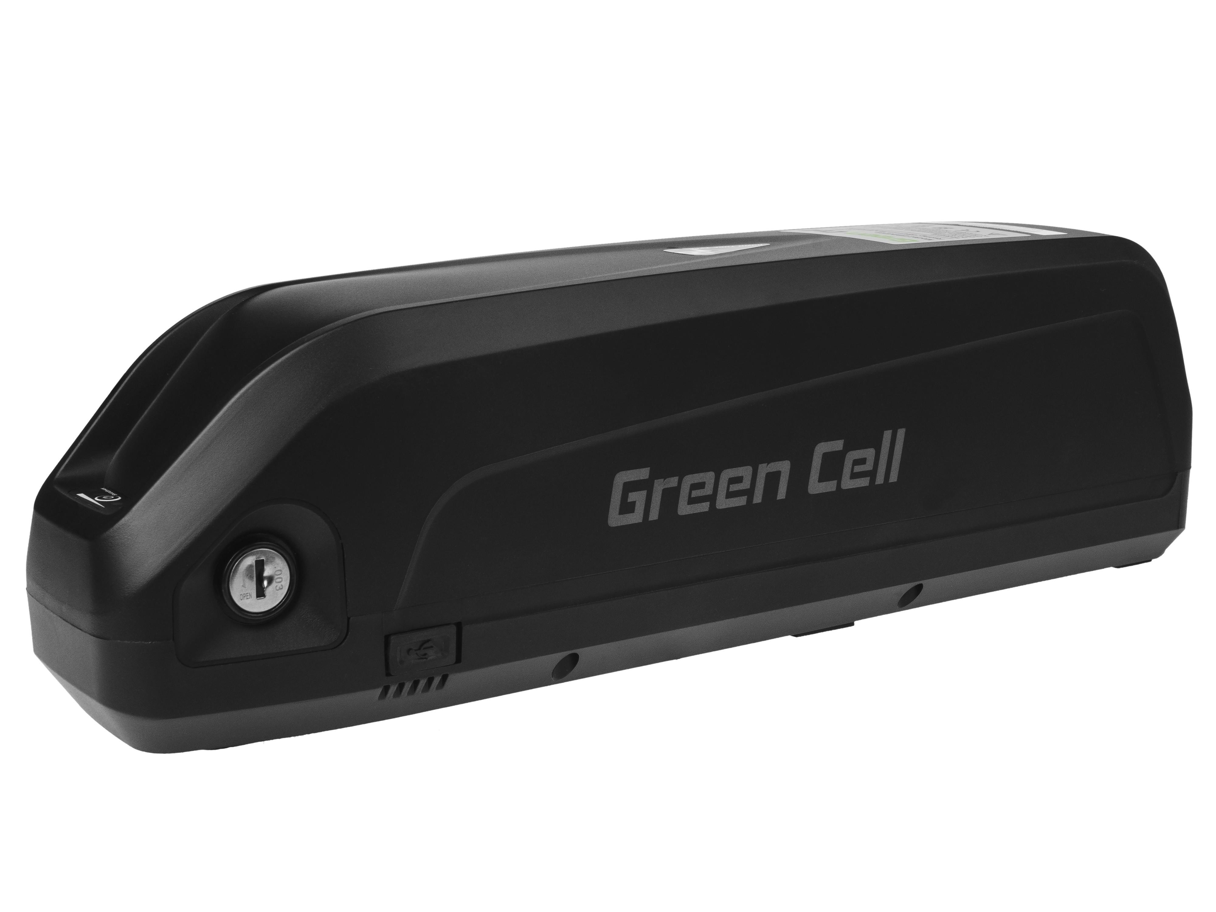 Green Cell eBike Battery Down Tube 48V 17Ah 816Wh E-Bike Pedelec Elektriskie skuteri un līdzsvara dēļi
