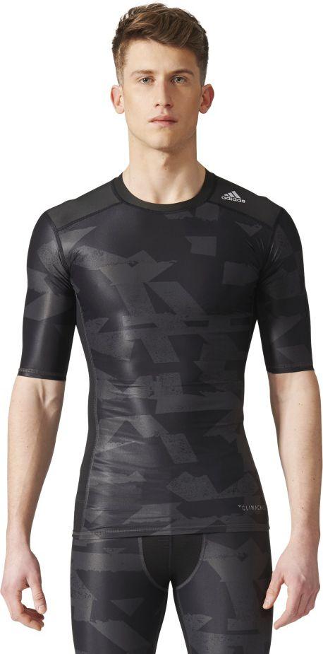 Adidas Koszulka Tech Fit Tee SS CI GX czarna r. S (CD3646) CD3646