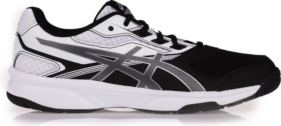 Asics Upcourt 2 women's shoes, black and white, 39 (B755Y-993)