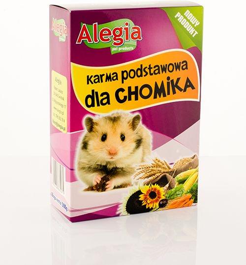 ALEGIA  Karma podstawowa, pelnoporcjowa dla chomika 500g 84865