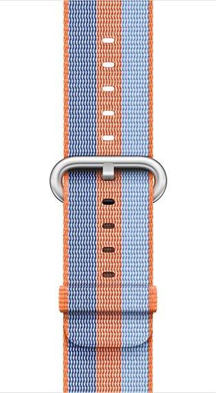 Apple Pasek z plecionego nylonu w kolorze pomaranczowym do koperty 42 mm (MPW22ZM/A) MPW22ZM/A
