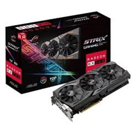 ASUS RX 580 OC GAMING   8GB 2HDMI/DVI/2DP video karte