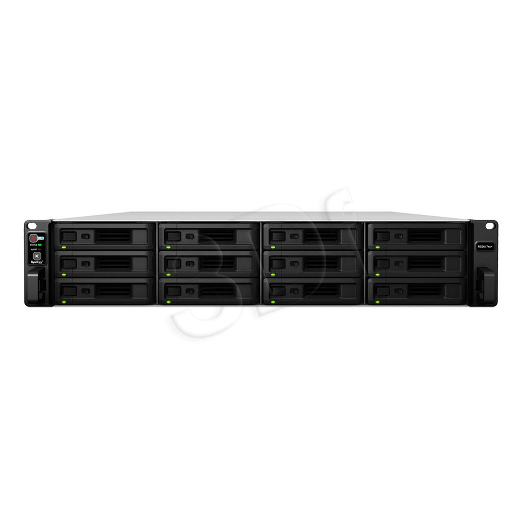 RS3617xs+ 12x0HDD 8GB   2.2Ghz 4xGbE 2x10GbE serveris
