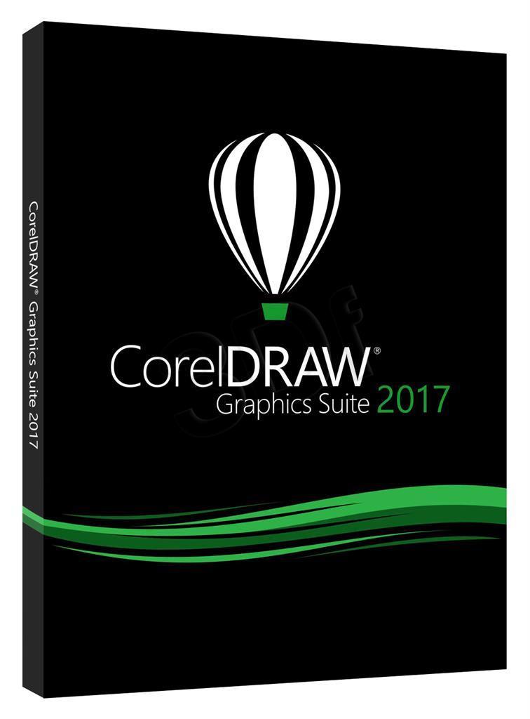 CorelDRAW GS 2017 PL/CZ Box DVD   CDGS2017CZPLD