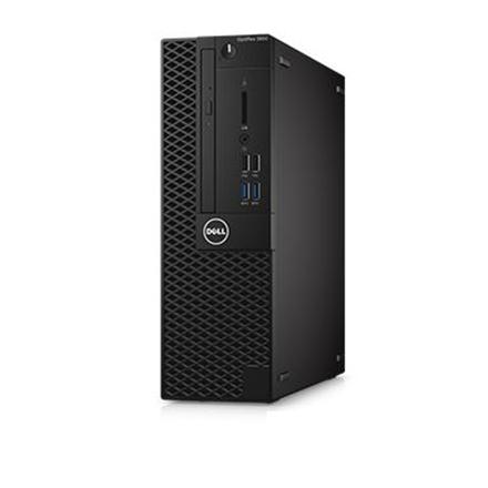 DELL Optiplex 3050SFF (I5-7500 3.4GHz, 8GB, 256GB SSD, mouse, US kb, Win 10 Pro, 3 yrs NBD) dators