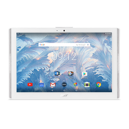 "Acer Iconia One 10 B3-A40 10.1 "", White, IPS TFT, 1280x800 pixels, MediaTek Quad-core, MT8167A, 2 GB, DDR3L SDRAM, 16 GB, Wi-Fi, Fr Planšetdators"