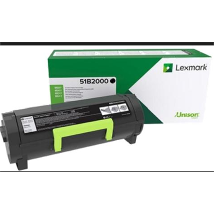 Lexmark MS/MX 3/4/5/617 51B2000 Monochrome Laser, Black