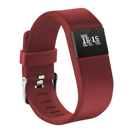 Acme Activity tracker ACT03R OLED, Red, Red, Bluetooth, Built-in pedometer sporta pulkstenis