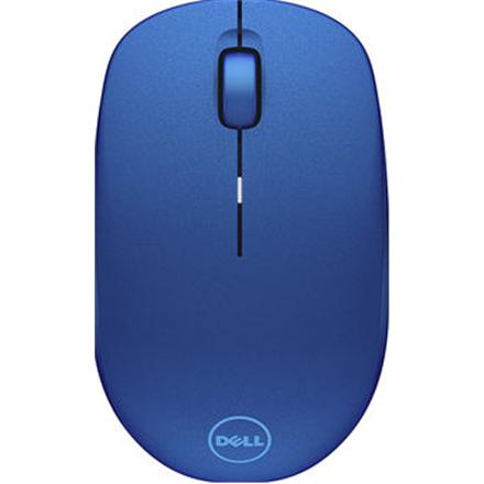 Dell WM126 wireless, Blue, Optical mouse Datora pele