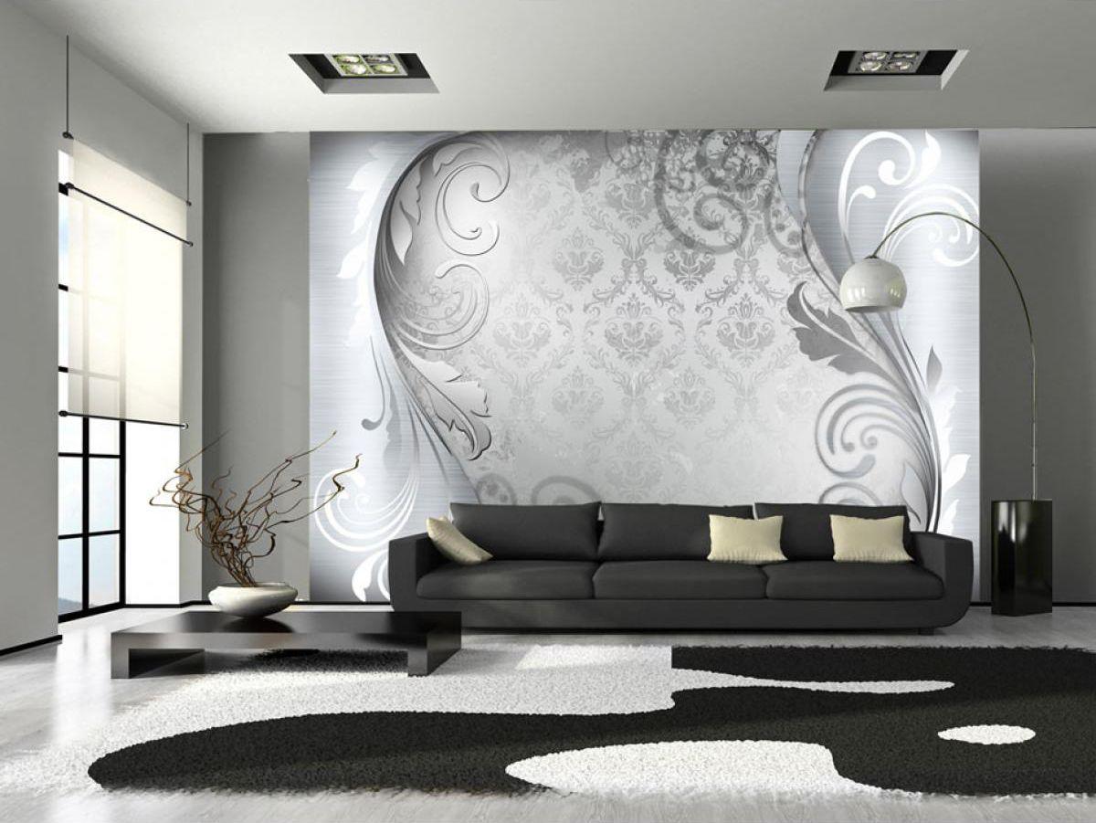 Artgeist Fototapeta - Szary ornament 350x245 BP-3XLNEW010940