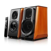 Edifier S2000 PRO Speaker type 2.0, 3.5mm/Bluetooth/Optical/Coaxial, Wooden Brown/Black, 124 W datoru skaļruņi