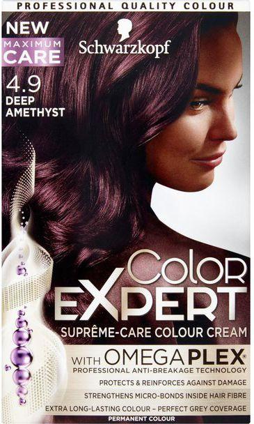 Schwarzkopf Color Expert Krem koloryzujacy do wlosow nr 4.9 Ciemny Fiolet 1op. 68060379