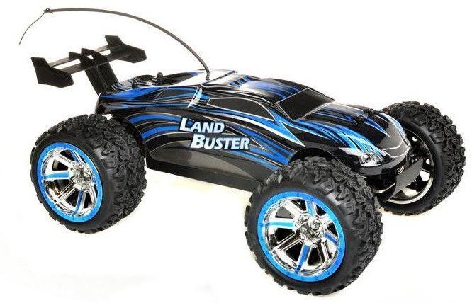 NQD Land Buster 1:12 Monster Truck RTR 27/40MHz - Blue Radiovadāmā rotaļlieta