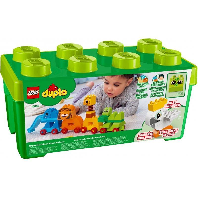 LEGO DUPLO 10863 My First Animal Brick Box LEGO konstruktors