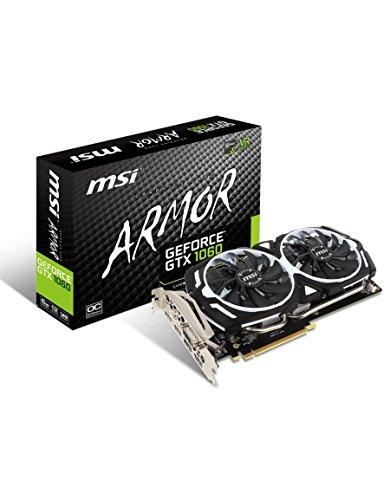 MSI GeForce GTX 1060 Armor 6G OCV1, 6144 MB GDDR5 video karte