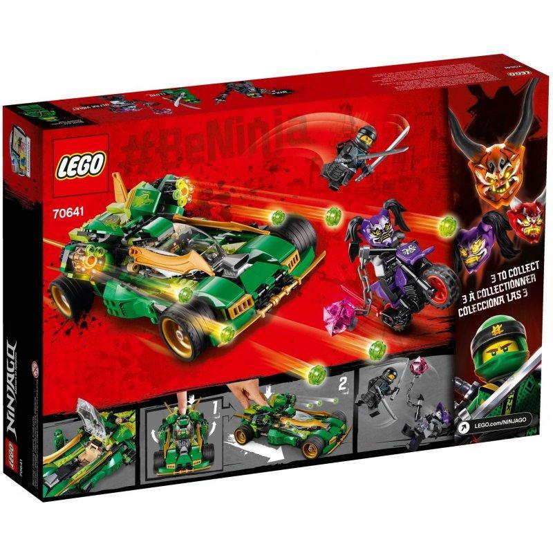 LEGO Ninjago 70641 Ninja Nightcrawler LEGO konstruktors