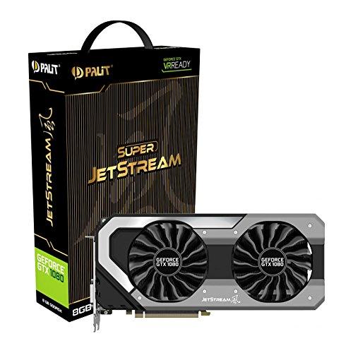Palit GeForce GTX1080 Super Jetstream 8GB video karte