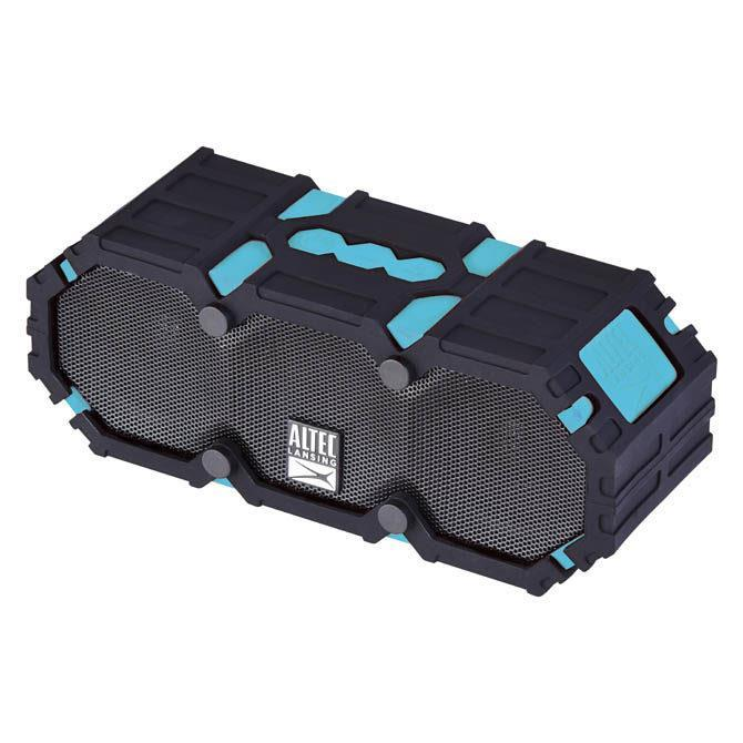 ALTEC LANSING | Mini LifeJacket | Portable/Waterproof/Wireless | Bluetooth | Black / Blue pārnēsājamais skaļrunis