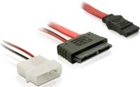 Delock SATA Micro 16pin / SATA 7pin +2pin Molex (84384) kabelis datoram