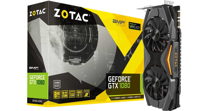 ZOTAC GeForce GTX 1080 AMP  Edition, 8192 MB GDDR5X video karte